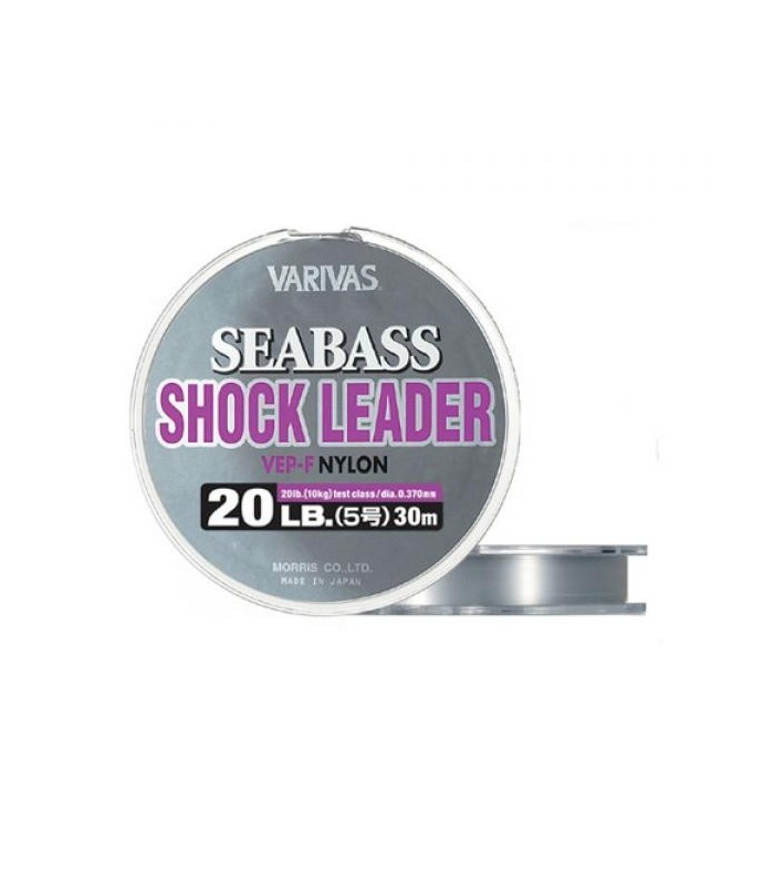 Varivas Sea Bass Shock Leader VEP 10 lb - 0,26 mm - 30 m
