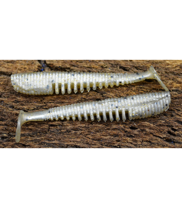 "Awaruna 1,5"" - 3.8cm 118 Pearl Gold Black & Gold Flk 10 szt"