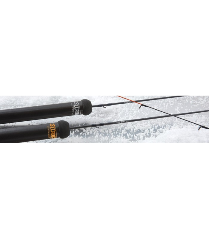 St. Croix Avid Glass Ice Rods AGR26L