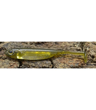 Fish Arrow Flash-J Shad 2'' 5 cm / kosan ayu -silver
