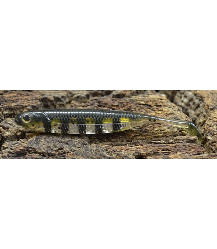 Fish Arrow Flash-J Shad 3'' 7,5 cm live gill- silver