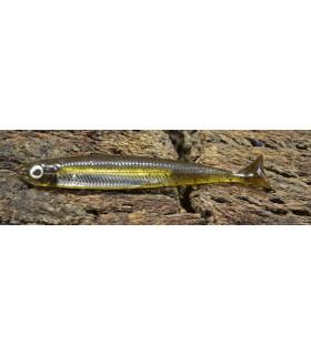 Fish Arrow Flash-J Huddle 2'' 5 cm green pumpkin - silver
