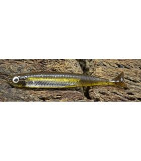 Fish Arrow Flash-J Huddle 3'' 7,5 cm green pumpkin silver