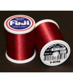 Nić Fuji Ultra Poly 100m A kolor 007 Garnet