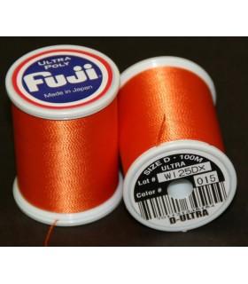 Nić Fuji Ultra Poly 100m A kolor 015 Orange