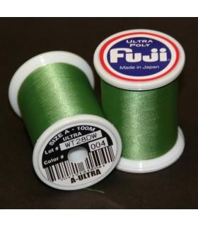 Nić Fuji Ultra Poly 100m A kolor 004 Medium Green