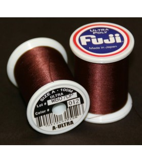 Nić Fuji Ultra Poly 100m A kolor 012 Dark Brown