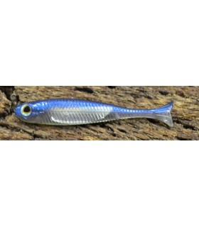Fish Arrow Flash-J Huddle 1'' 4,5 cm purple weenie - silver