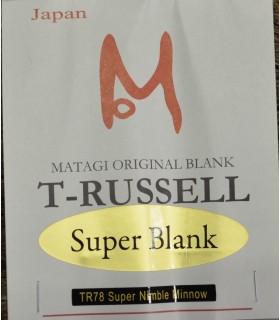 Matagi TR78 Super Nimble Minnow 234 cm 3-14g