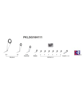 Fuji SIC KR zestaw przelotek PKLSG25H81