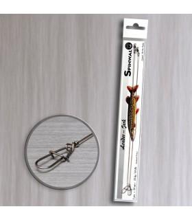 Spinwal przypon Jerk drut 20cm 12kg