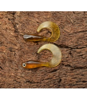 Micro Grub Tail 4cm Gold Shiner