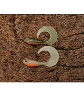 Micro Grub Tail 4cm Hot Olive