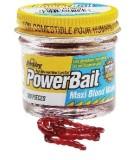 Berkley Power Bait Blood Worm - sztuczna ochotka